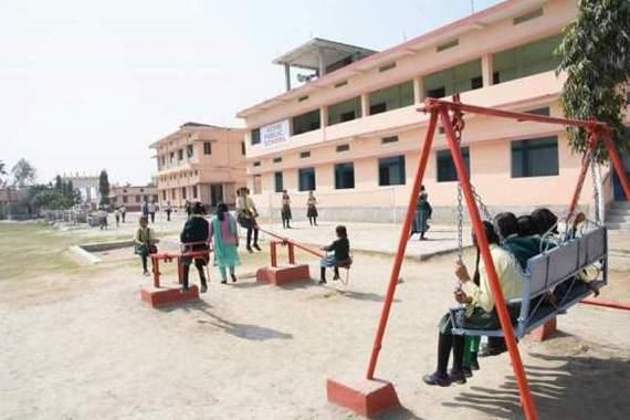 front view of acme public school barkagaon muzaffarpur bihar